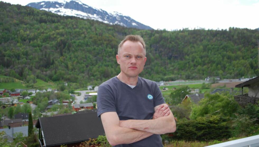 STORE KONSEKVENSER: Lars Erik Skåthun følte stor skam etter at han fikk sparken. Det gikk hardt utover familielivet. Foto: Leif Stang/Dagbladet