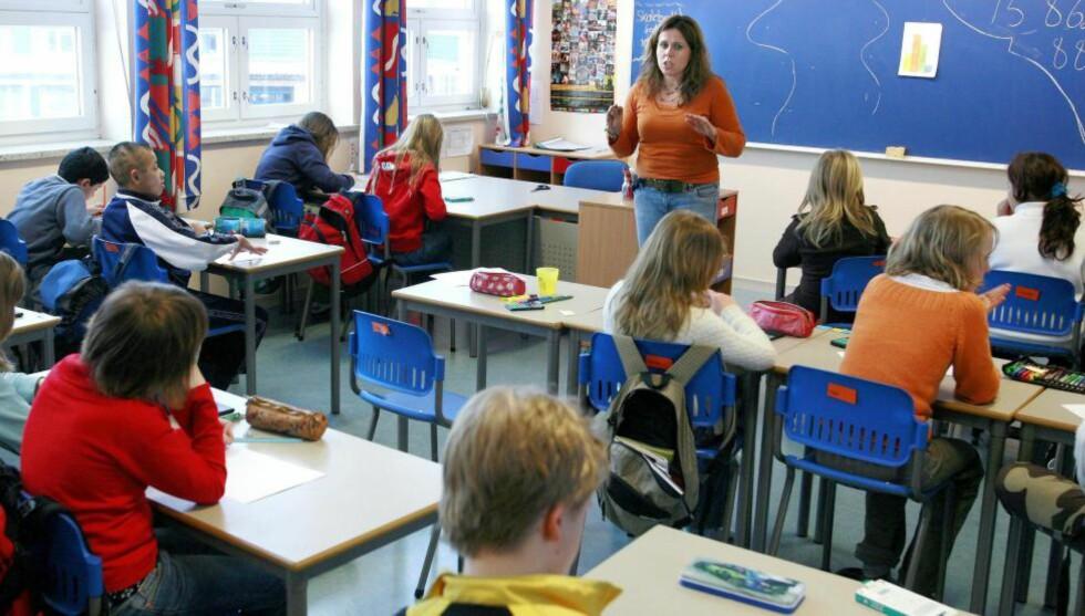 ROM FOR BRÅK: Er det virkelig ønskelig å bli kvitt alt bråk i klasserommet, spør artikkelforfatteren. Foto: Henning Lillegård