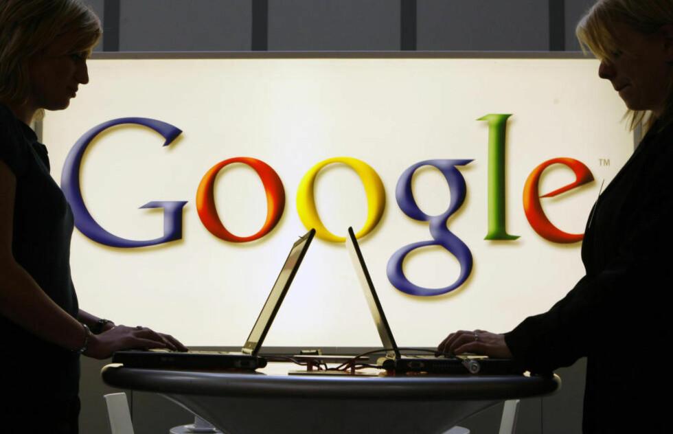 MANGE VIL BLI GLEMT: Google har mottatt 12000 sletteønsker fra folk som vil bli glemt av nettselskapets søkemotor. Foto:AP/Jens Meyer/NTB Scanpix