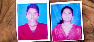 De første bildene: Murti og Pushpa ble gruppevoldtatt da de skulle på do, ble funnet hengt