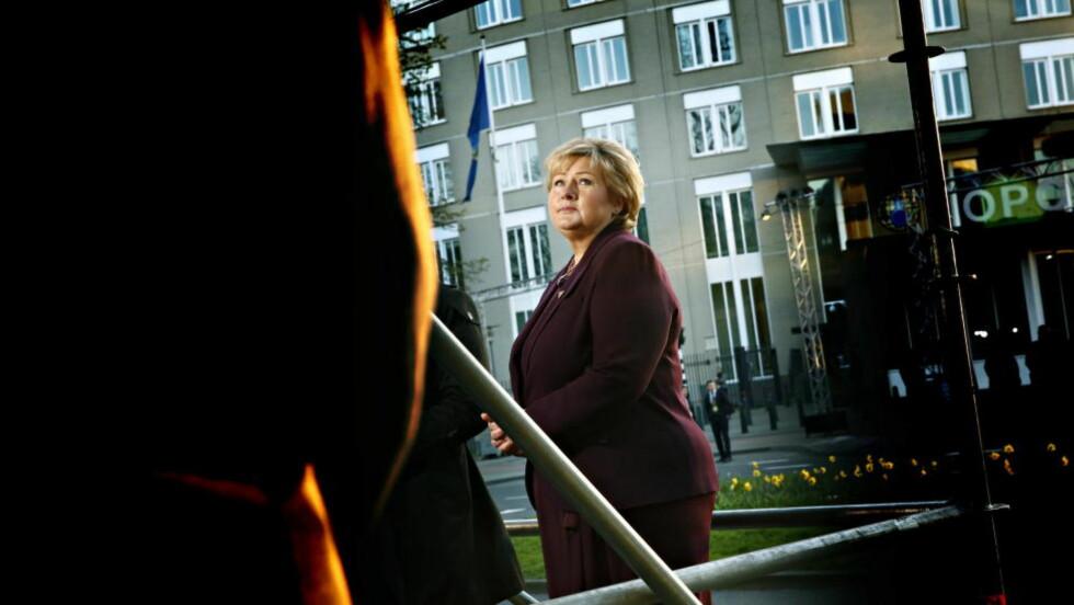 HANDLING:  I opposisjon foreslo Erna Solberg en rekke tiltak mot hatefulle ytringer. Det er på tide å ta fram planen igjen. Foto: Jacques Hvistendahl / Dagbladet