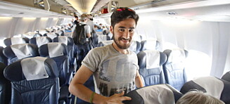Nå sitter Faiz på flyet til Norge