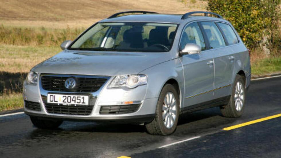 VW PASSAT STASJONSVOGN:  Beste stasjonsvogn under 150 000 kroner. Foto: Autofil