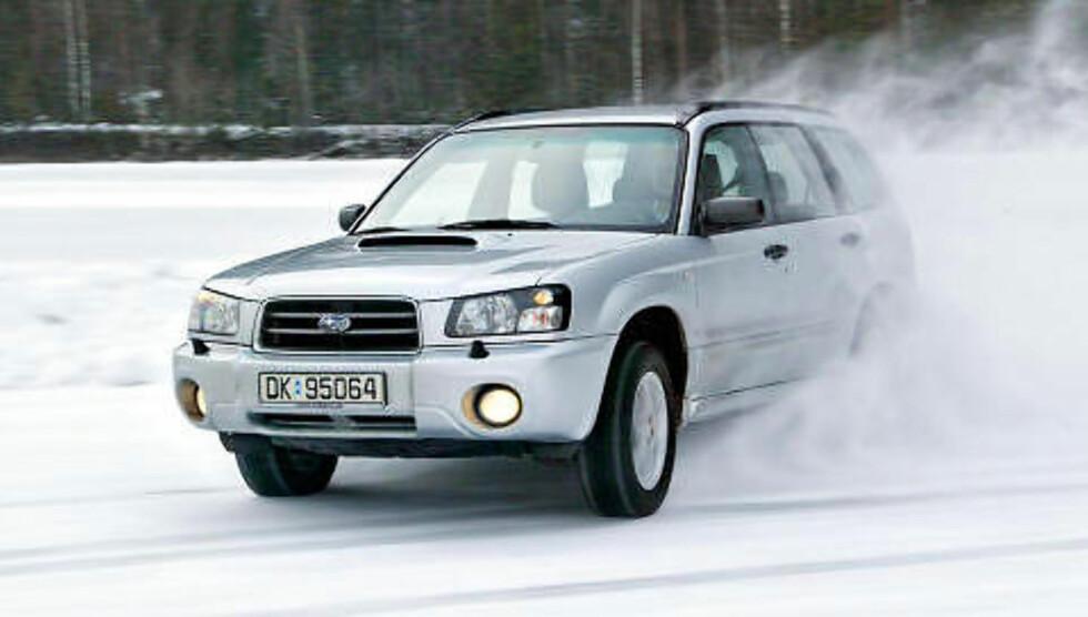 SUBARU FORESTER: Beste SUV under 150 000 kroner. Foto: Autofil