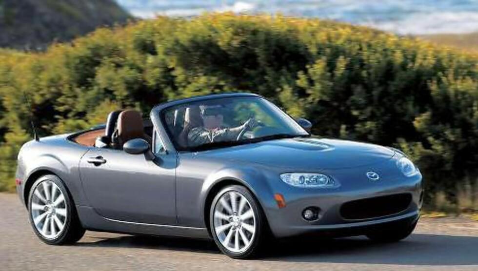 MAZDA MX-5: Beste sportsbil under 150 000 kroner. Foto: Mazda