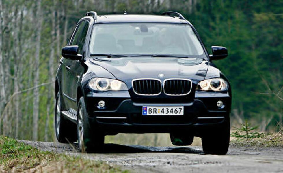 BMW X5: Beste SUV under 500 000 kroner. Foto: Autofil