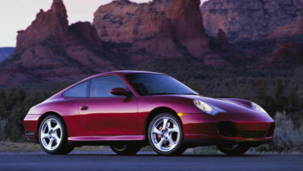 PORSCHE 911: Beste sportsbil under 500 000 kroner. Foto: Porsche