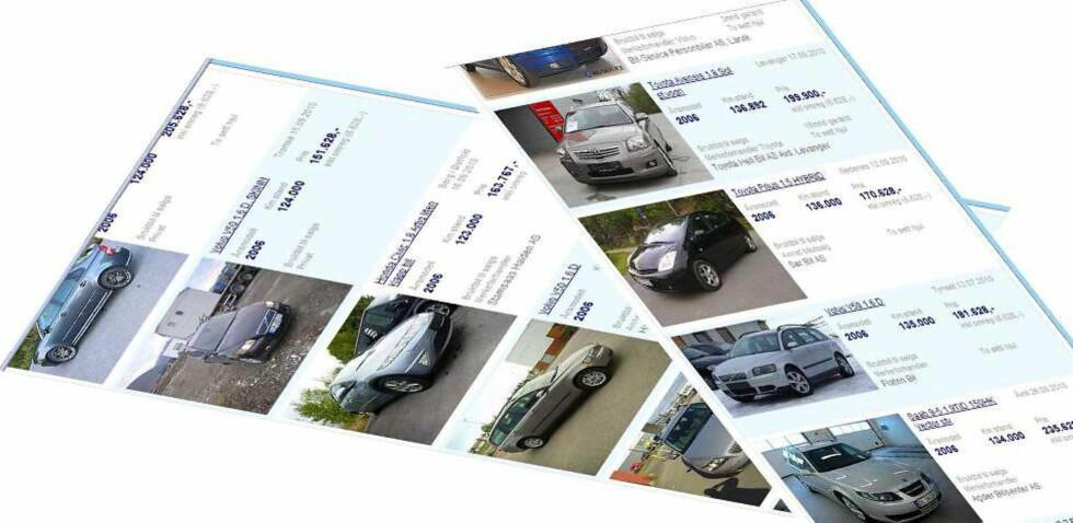 DE TOLV BESTE BRUKTBILENE: Det finnes 66 000 brukte biler til salgs på Finn.no. Hva vil du velge, stasjonsvogn, flerbruksbil, SUV eller sportsbil? Og i hvilken prisklasse? Her har vi kåret de aller beste kjøpene du kan gjøre innenfor de fire kategoriene og de tre prisklassene. Foto: Autofil