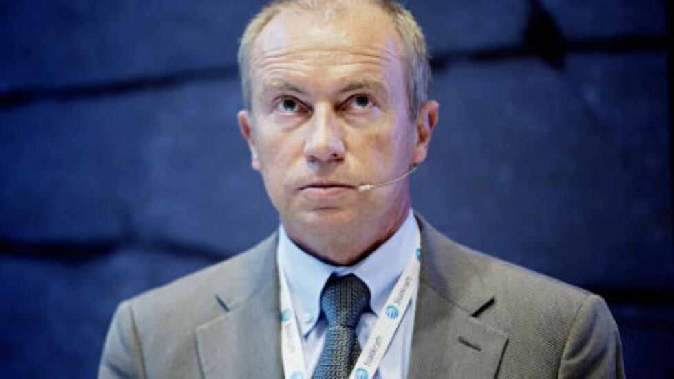 STATKRAF: konsernsjef Christian Rynning-Tønnesen i Statkraft AS total 4,7 millioner kroner i fjor. Statkraft er heleid av staten. Foto: Stian Lysberg Solum / NTB scanpix