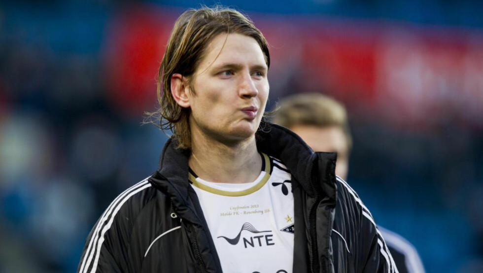 STREIKER: Stefan Strandberg nekter å spille kveldens kamp mot Lillestrøm. Foto: Vegard Grøtt / NTB scanpix