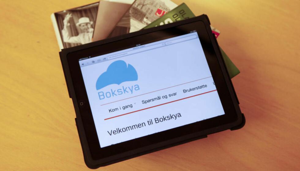 LÅNE/EIE: Det er enklere, mer praktisk å låne en e-bok enn å kjøpe den. Det er færre tekniske operasjoner, en app og et par klikk, så er boka din i to uker. Foto: Marianne Løvland / Scanpix