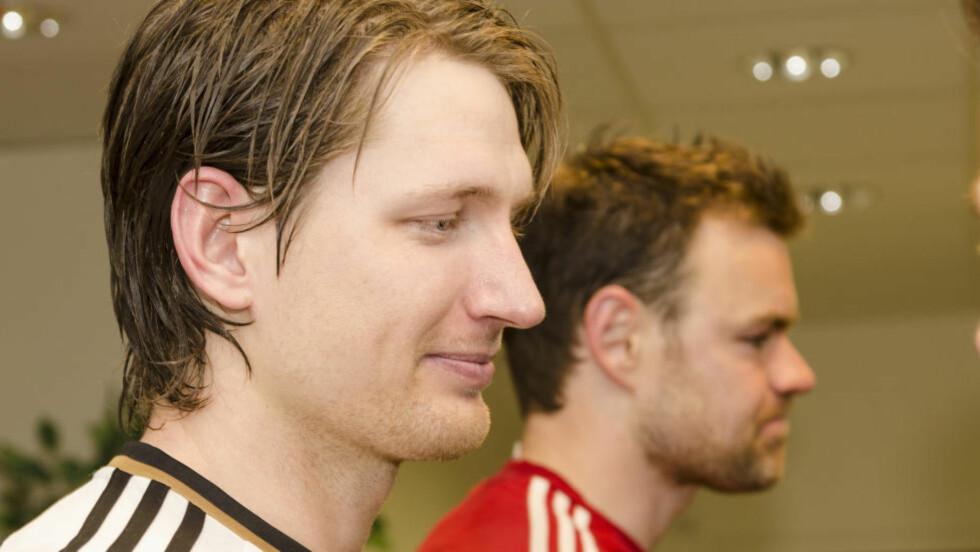 STREIKET IKKE: Det hevder Rosenborgs Stefan Strandberg i en pressemelding. Foto: Ned Alley / NTB scanpix