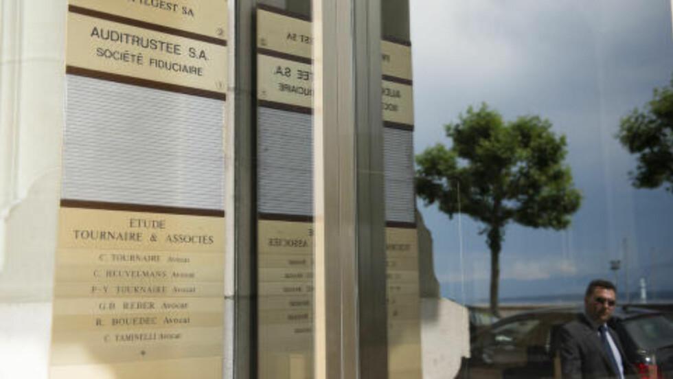 FELLES ADRESSE: Avhørt som vitne er i Olav-saken er også den sveitsiske advokaten Claude Tournaire, får Dagbladet bekreftet. Han trakk seg også - formelt - ut av Profilgest i 2009, men flere kilder opplyser til Dagbladet at han fortsatt skal ha befatning med selskapet: Profilgest og Tournaire har nå kontor på samme adresse, og de oppgir samme kontakttelefonnummer på sine respektive hjemmesider. Foto: Julien Gregorio / Dagbladet