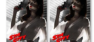 Sånn. Nå er den nye «Sin City»-plakaten spiselig for amerikanerne