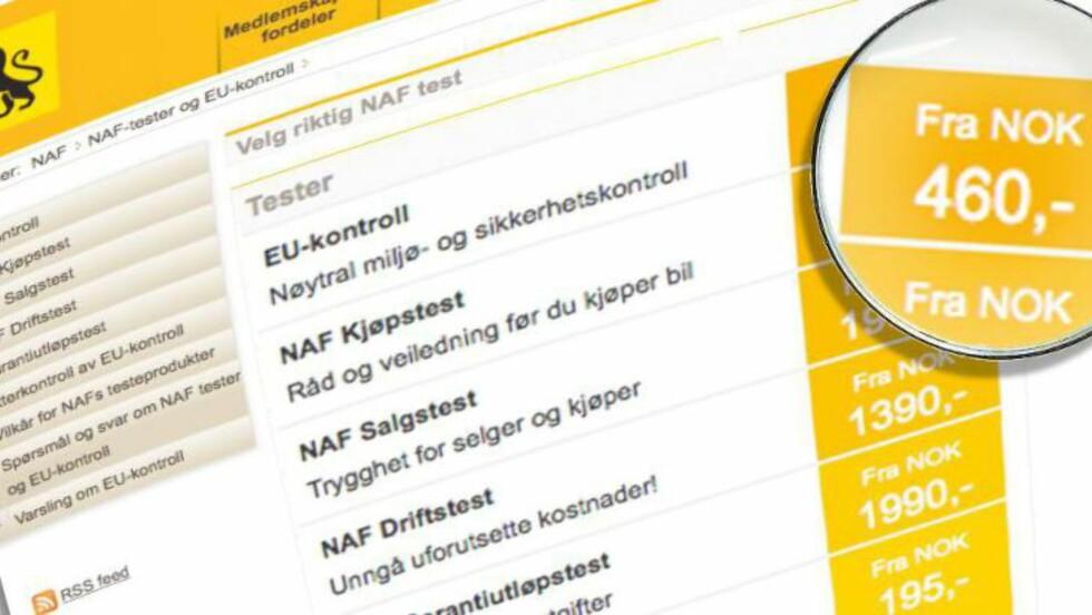 EU-KONTROLL:Du kan få sjekket mulig trimming på EU-kontroll.  Foto: PER ERVLAND