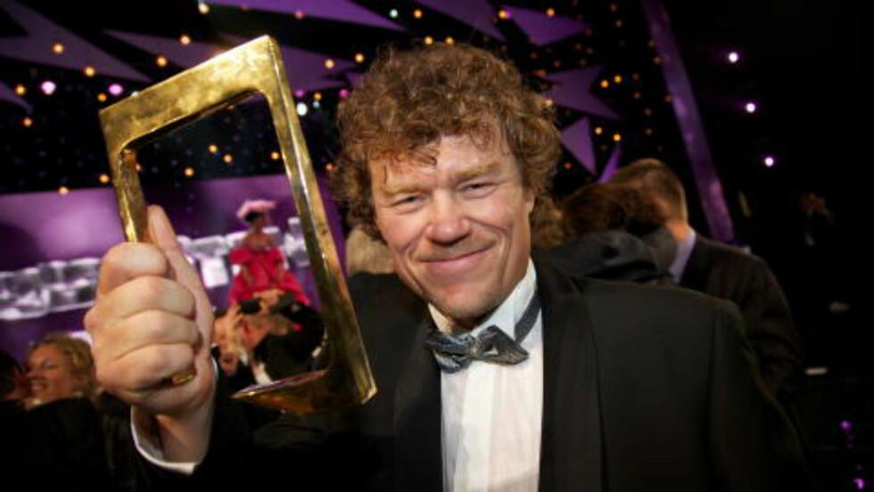FOLKETS PRIS: I 2010 mottok Lars Monsen Gullruten i kategorien Folkets pris. Da han ønsket å jobbe med egne prosjekter, så NRK det naturlig å ikke lage flere sesonger av «Ingen grenser». Foto: Eirik Helland Urke