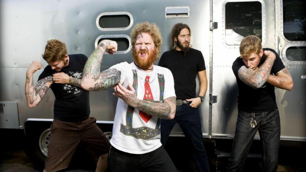 PROGROCK: Atlanta-kvartetten har beholdt progelementene, men satser hardere på rocken enn noen gang. Foto: Promo