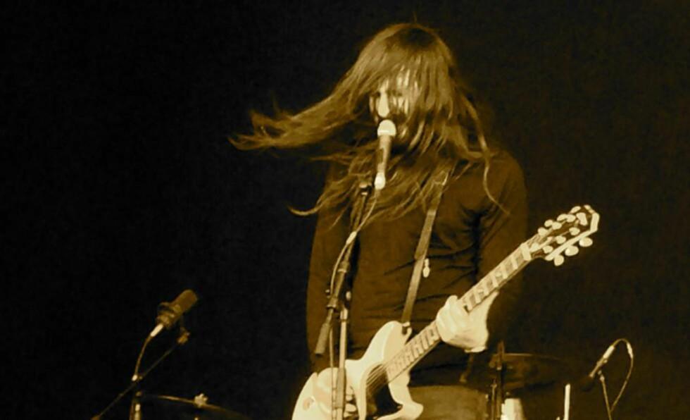 TUNGT OG SVART: Uncle Acid and the Deadbeats åpnet hovedscenen på Tons of Rock i går. Foto: Torgrim Øyre / DAGBLADET.