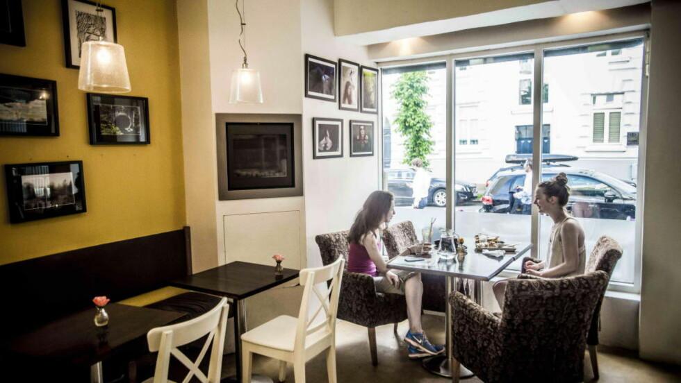 Diner på Frogner:  Café Fedora er en ujålete oase for amerikansk «soul food».   Foto: Thomas Rasmus Skaug / Dagbladet