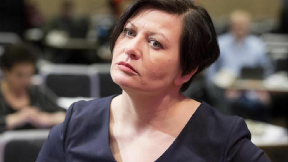 MÅ TA ANSVAR: - Nå må KrF og Venstre ta ansvar for sin egen politikk, sier  Arbeiderpartiets nestleder Helga Pedersen. Foto: Håkon Mosvold Larsen / NTB scanpix