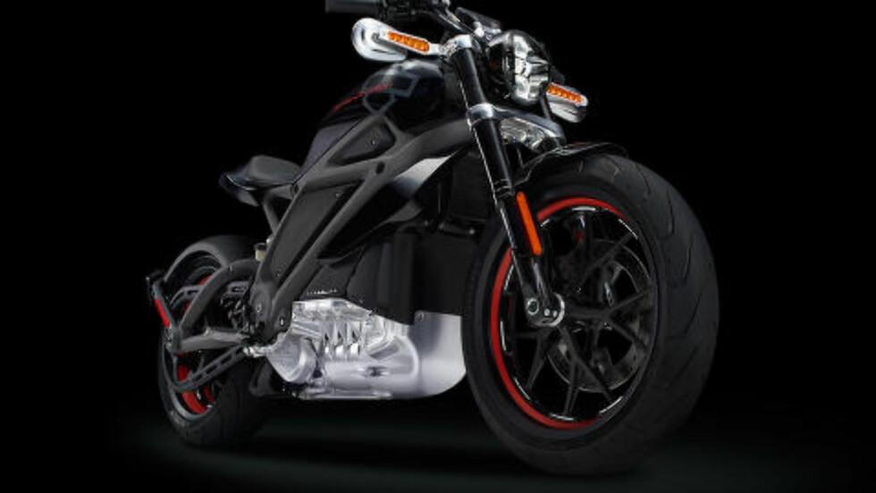 LIGNER: Utseendet skal være Harley, men lyden blir neppe den samme. Foto: HARLEY-DAVIDSON