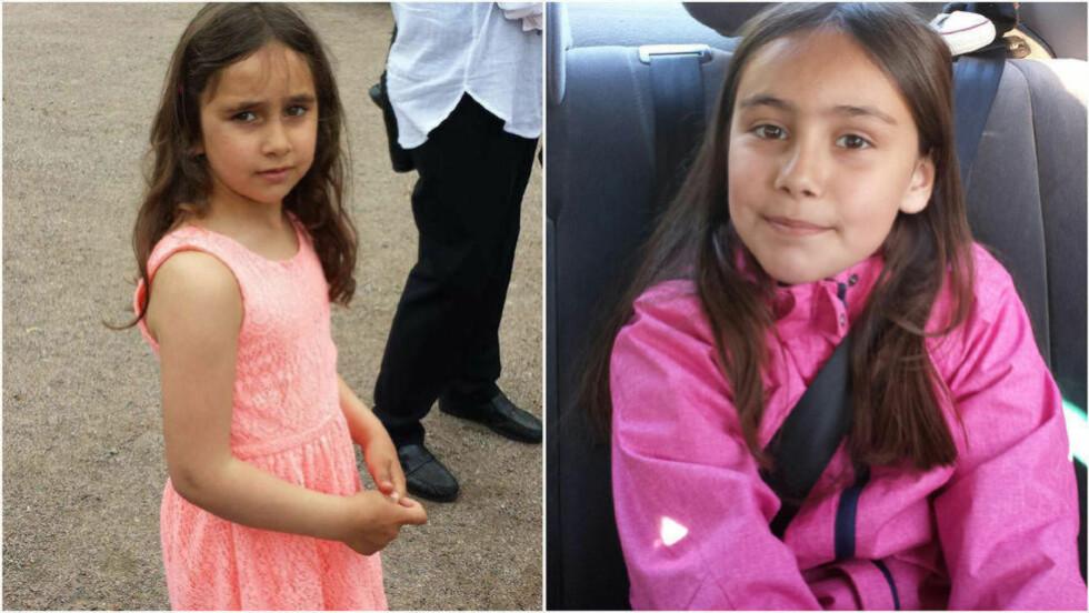 BORTFØRT :  Politiet på Kongsvinger vet fortsatt ikke hvor de kidnappede søstrene   Rajana (til venstre) og Somaja er. De ble bortført fra skoleveien ved Kongsvinger for ti dager siden. Foto: Politiet.