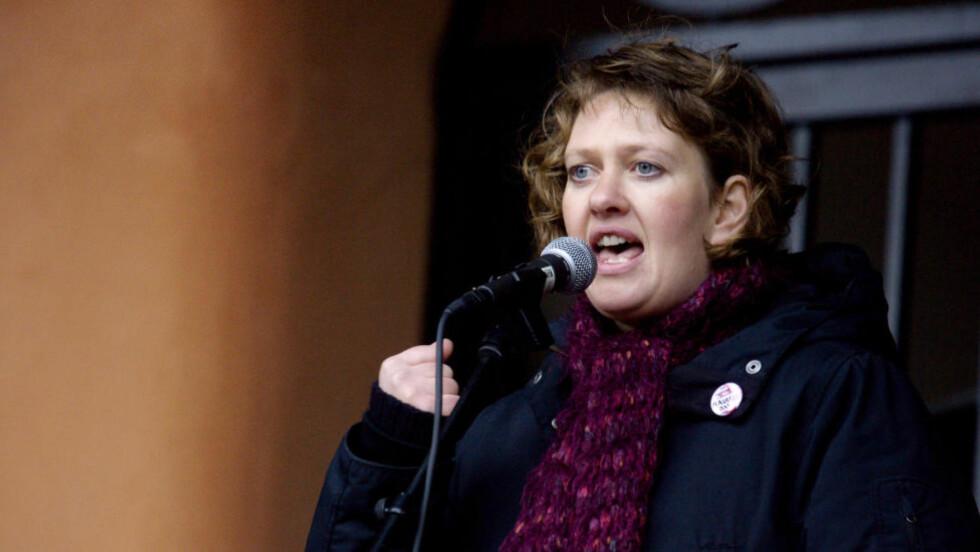ADVARER: Leder Ane Stø i Kvinnegruppa Ottar advarer mot hatefulle ytringer i feminismens navn. Foto: Kyrre Lien / SCANPIX .