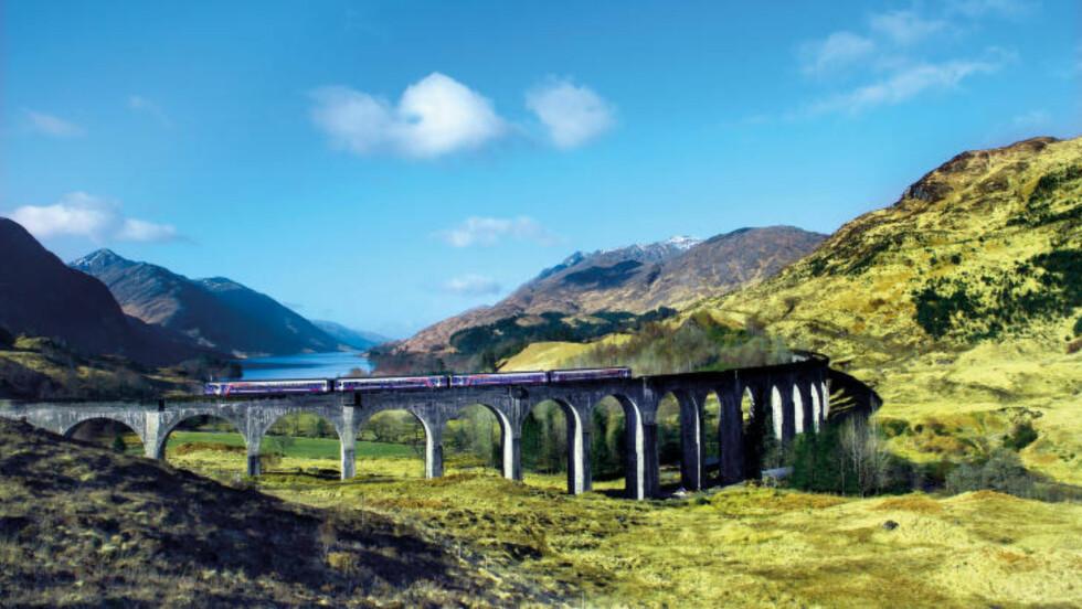 INGENIØRKUNST: De 21 betongbuene langs Mallaig-forlengelsen står som kroneksempelet på hvor vanskelig det var å lage jernbane i det karrige terrenget langs West Highland Railway. Foto: RUNAR LARSEN