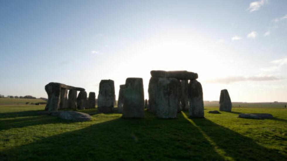 STONEHENGE: Verdens mest berømte steinsetting ligger riktignok et par mil unna Salisbury, men togturister kan bli med på guidede turer hit fra katedralbyen. Foto: GJERMUND GLESNES