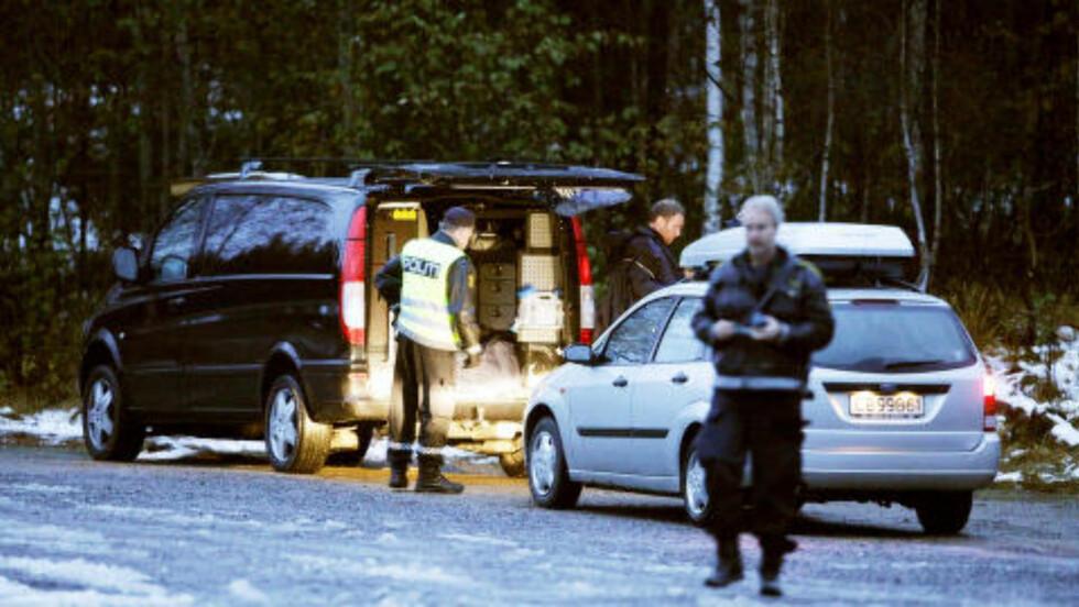 STOR LETEAKSJON: Det tok mer enn et døgn etter at Anna Medvedeva ringte til nødsentralen før politiet fant henne. Foto: PEDER GJERSØE/NTB SCANPIX
