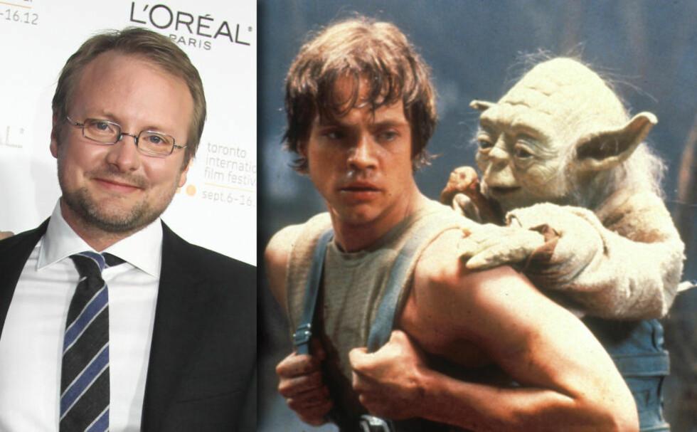 ALLE NERDERS DRØMMEJOBB: Regissør Rian Johnson tar over stafettpinnen fra J. J. Abrams på den nye Star Wars-trilogien. Foto: Stella pictures