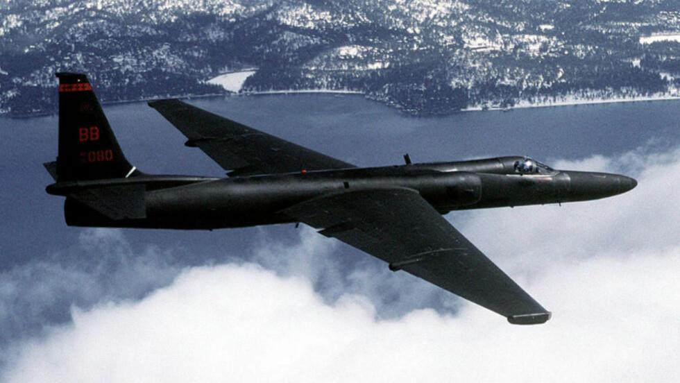 SKULLE TIL BODØ: Et fly av typen Lockheed U-2 var i 1960 på vei til Bodø da det ble skutt ned i Sovjetisk luftrom. Steven Spielberg lager film om den diplomatiske krisen som fulgte. Foto: Master Sgt. Rose Reynolds. Wikimedia Commons lisenskode: VIRIN DF-ST-98-01955 & 960601-F-6300R-041