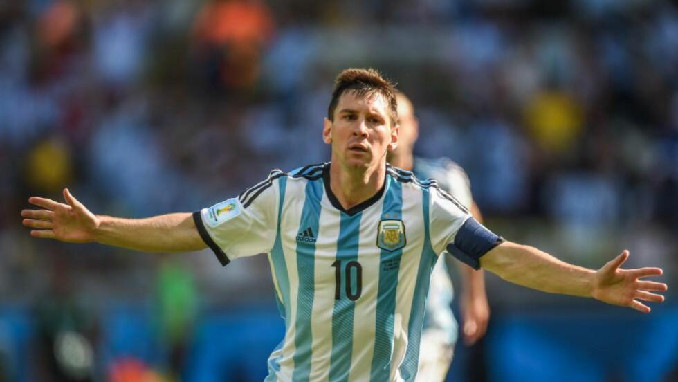 YDMYK:  Han reddet Argentina - men Lionel Messi ville ikke ha æren. Foto: NTB Scanpix