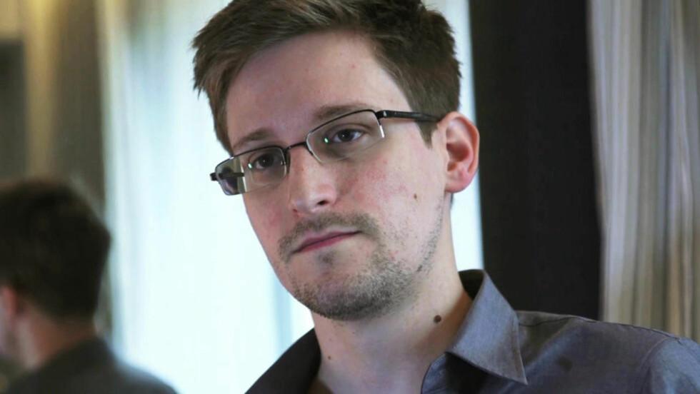 MÅ FÅ FREDSPRISEN: En rekke norske jurister mener at den amerikanske avhopperen Edward Snowden må få Nobels fredspris. Foto: Reuters/Glenn Greenwald/Laura Poitras/The Guardian/NTB scanpix