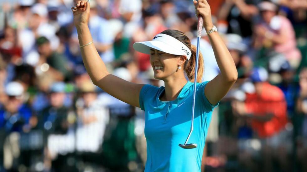 VINNER: Amerikanske Michelle Wie vant US Open. Foto: David Cannon/Getty Images/AFP