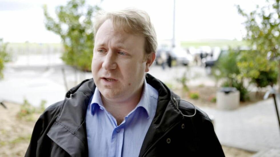 BEKREFTER ANGREP: Talsmann for den israelske hæren, Peter Lerner. Foto: Torbjørn Grønning/Dagbladet