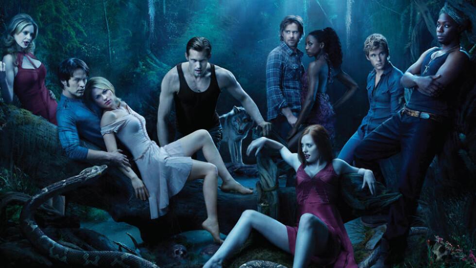 GÅR MOT SLUTTEN: HBO-serien «True Blood» har starta sin siste sesong.