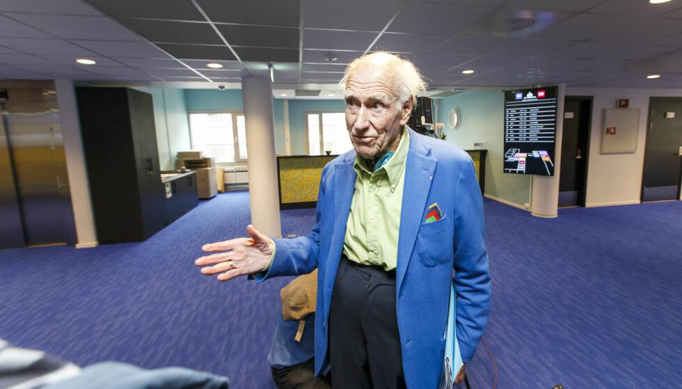 IKKE OVERRASKENDE: Eiendomsmagnat Olav Thon er en av Norges rikeste menn, og samtidig en av Norges 25 mektigste personer. Foto: Gorm Kallestad / NTB scanpix