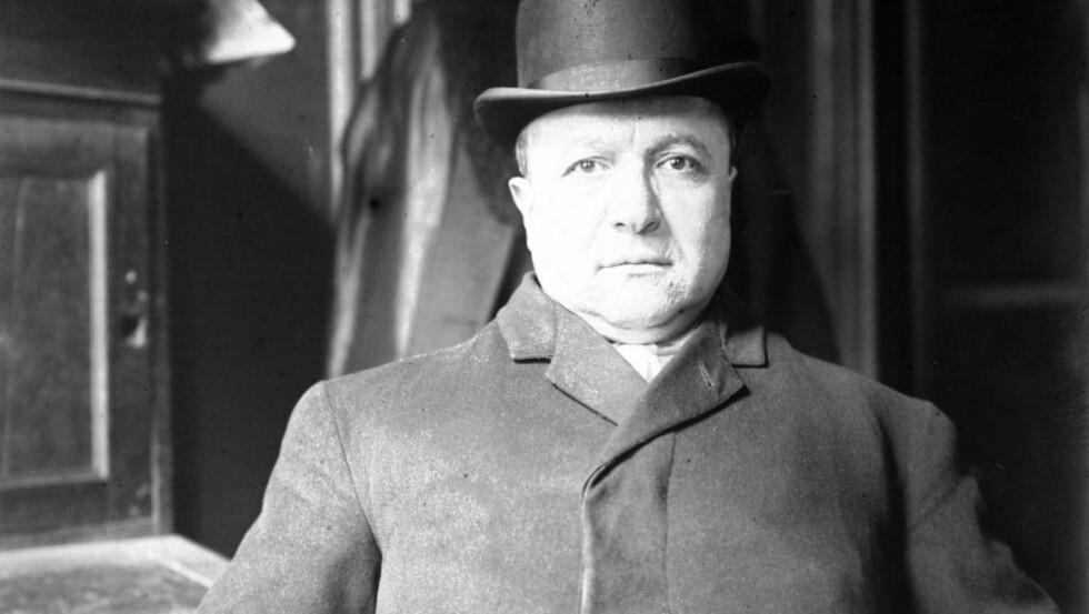 LEGENDE: Joe Petrosino var innvandrergutten som steg til topps i New York-politiet, før han ble tatt av dage i 1909. Foto: The Granger Collection / NTB Scanpix