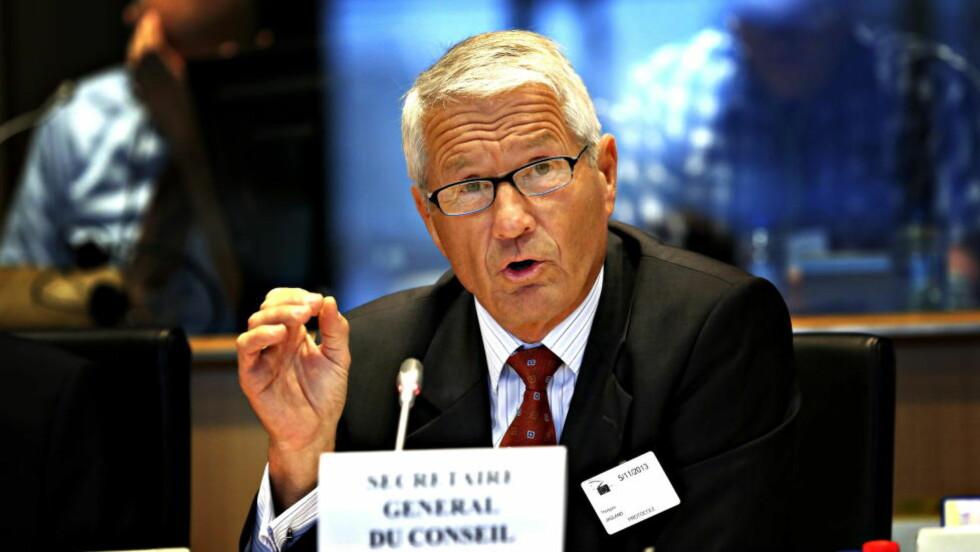 VALG I DAG: I dag avgjør Europarådet om Thorbjørn Jagland får fortsette som generalsekretær. Foto: Jacques Hvistendahl / Dagbladet