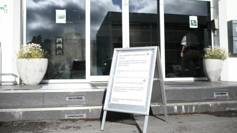 KNIVSTUKKET: På dette Nav-kontoret i Groruddalen ble en kvinnelig ansatt knivstukket i fjor høst. Hun døde siden av skadene. Foto: Stian Lysberg Solum / NTB scanpix