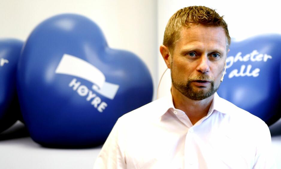 UTFORDRES: Helseminister Bent Høie utfordres av Forbrukerrådet. Foto: Lise Åserud / NTB Scanpix
