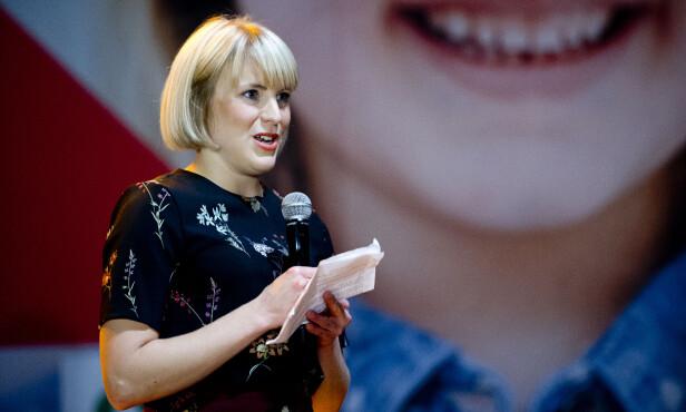 SV-TOPP: Kari Elisabeth Kaski er selv fra Nord-Norge og er bekymret for regjeringens forsvarspolitikk. Foto: Jon Olav Nesvold / NTB scanpix
