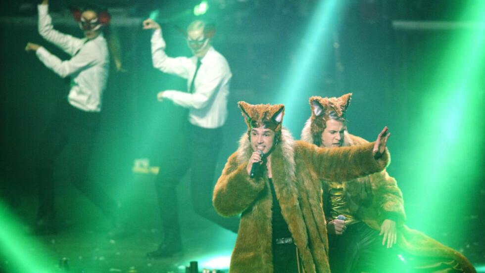 STORSLÅTT: Brødrene Vegard og Bård Ylvisåker kan unne seg en aften som stjerner. Og det gjør de. Til gangs. Foto: Sjur Stølen, Dagbladet