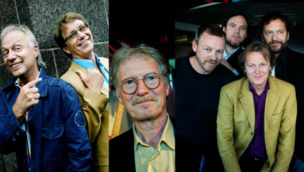 POPHEDER OG ROCKÆRE: DeLillos, Knutsen & Ludvigsen og Øystein Sunde blir innlemmet i Rockheim Hall of Fame. Foto: Dagbladet