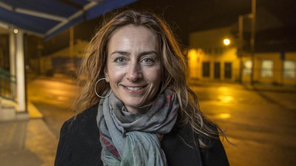 FØRSTE KVINNELIGE LEDER: Politioverbetjent Kristin Aga ble i kveld valgt til ny leder for Oslo politiforening. Hun er første kvinne i lederrollen i løpet av foreningens 120 år gamle historie. Foto: Lars Eivind Bones