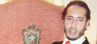 Kadhadi-sønn tilbake i Libya