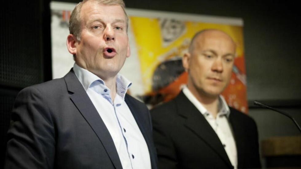 IKKE VÅR SKYLD:  Skipresident Erik Røste.Foto:  NTB scanpix