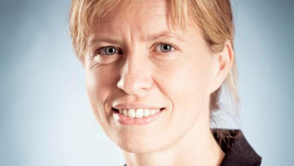 FAVORITTDAME: Astrid Skreosen, ASAP Norway AS: Jobbet på en fødeavdeling, og så utfordringene med renhold og hygiene. Startet en bedrift og utviklet et helt nytt fødselslaken, og har i dag en fabrikk i Norge. Vekstpotensialet ses på som stort, nasjonalt og internasjonalt. Kilde: Næringsdepartementet. Foto: ASAP.