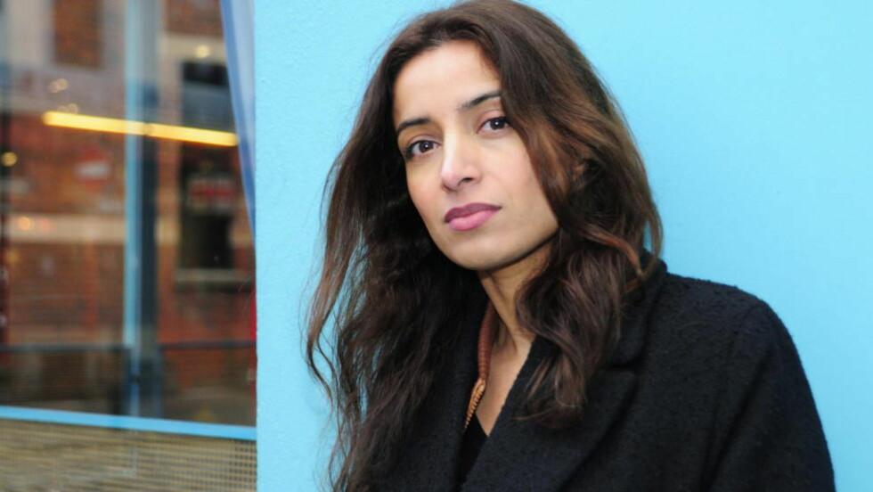 SUKSESS: Deeyah Khan (36) viser sin prisbelønte film om æresdrap for FN i Geneve i dag. I mai skal hun vise den i FN i New York. Foto: Marianne Wie.